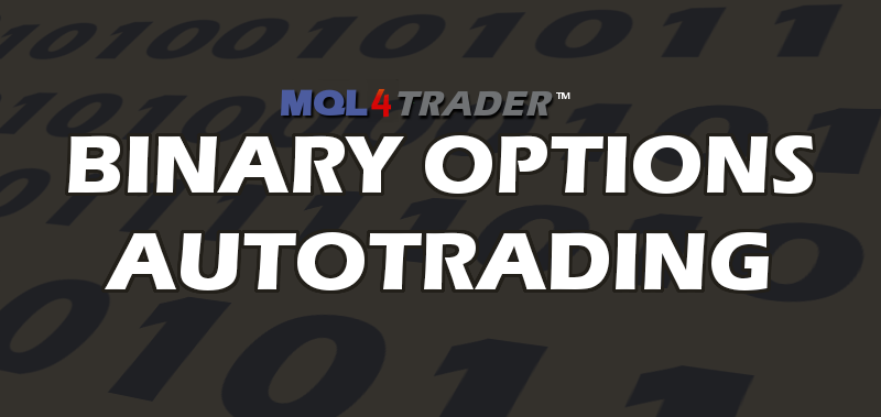 Binary Options Auto Trader Robots Create Automated strategies for Forex